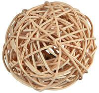 Игрушка Trixie Wicker Ball для грызунов из лозы, 4 см