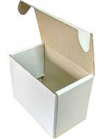Самосборная коробка к0471, 300х130х130 мм,Белая Т21Е