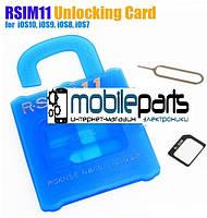 Оригинальная Разблокировка для R-SIM 11 Unlock iPhone 7,6S,6,5S iOS 10 iOS 9 Easy Unlocking Activation SIM