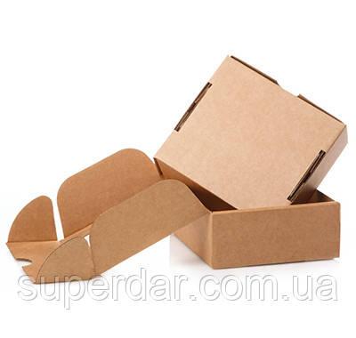 Самосборная коробка к0427, 120х90х30 мм, Бурый Т21Е