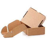 Самосборная коробка к0427, 120х90х30 мм, Бурый Т21Е, фото 1