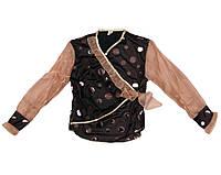 Блуза детская Zibi 9894 Шоколадный