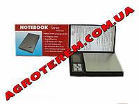 Мини-весы электронные Notebook 2 кг