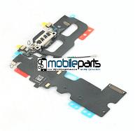 Оригинальный шлейф с разъемом зарядки (charging connector) для Apple iPhone 7 (Черный)