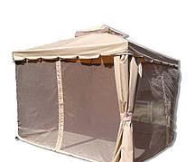 Уютная альтанка с сеткой 3х3 м
