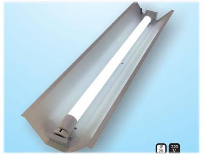 Светильник трассовый открытый под led лампу Т-8  60см СПВ-01(600) компакт, фото 2