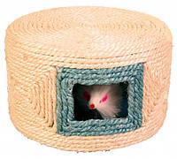 Игрушка Trixie Play Drum для кошек сизалевая, 16х10 см