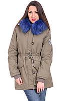 Куртка-парка  Pshenichnaya 8113-3 Хаки