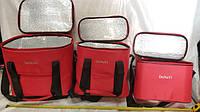 Термо сумка 3 в 1 красного цвета