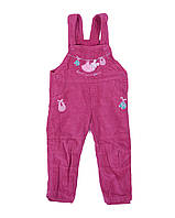 Брюки-комбинезон детские Dress 3305-2 Малиновый
