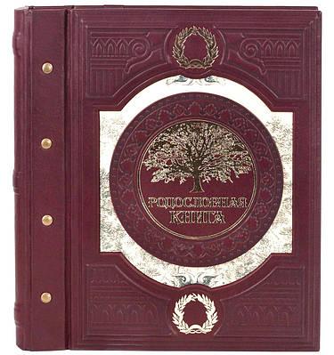 Родословная книга в кожаном переплете 620-08-02