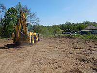 Розчищення ділянки під будівництво, фото 1