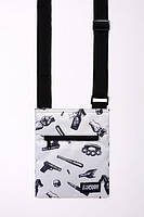 Мессенджер сумка через плечо M4 UPXBNDT GRY Urban Planet (сумка женская, сумка мужская)