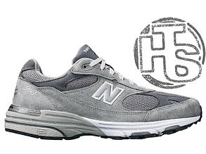Мужские кроссовки New Balance 993 USA Grey WR993GL. Любимые кроссовки Джобса