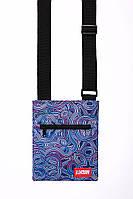 Мессенджер сумка через плечо M4 ABSTRACT Urban Planet (сумка женская, сумка мужская)