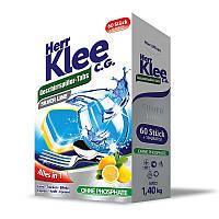 Таблетки для посудомийних машин Herr Klee Geschirrspuler-Tabs Lemon 70 шт.