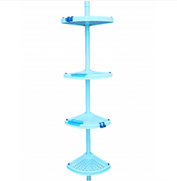 Полка в ванную Primanova (голубая)