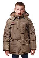 Зимняя детская куртка 0213 Хаки