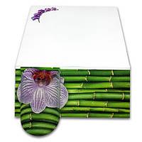 Бумага для заметок «Oрхидея» серия «Цветы», фото 1