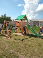 Как установить детскую площадку?