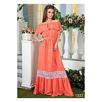 Женское платье (42-44, 46-48, 50-52, 54-56) — штапель купить в розницу в одессе  7км