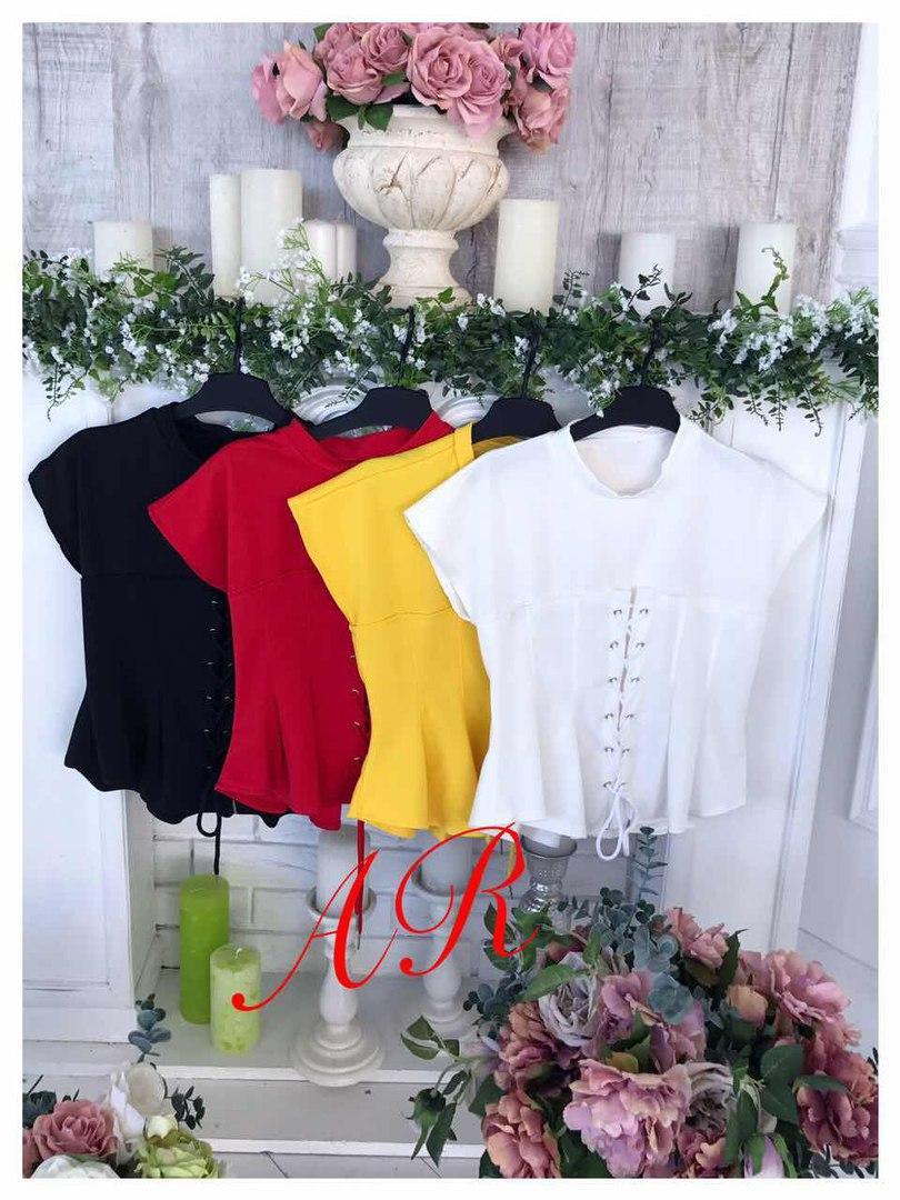 Блуза (Фабричный Китай) ткань трикотаж размер универсальный 42/46