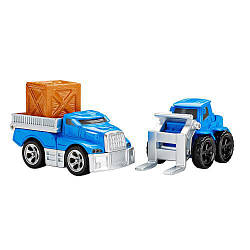 "Набор машинок ""Транспортные средства"" от Fisher-Price EZ Play Railway Loading Dock Vehicles"