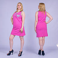 Женская ночная сорочка Турция. MORAL 01-48 XXL. Размер 50-52.