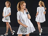 Женское платье (42 44 46 48 50) — прошва купить в розницу в одессе  7км
