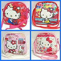 "Сумка детская ""Hello Kitty"" с ремешком через плечо"