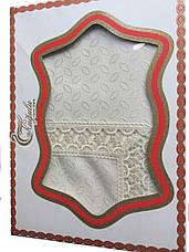 Нарядная скатерть Тройное кружево Kugulu 160*220, фото 3
