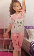 Качественная летняя пижама для девочки БП
