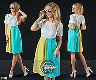 Женское платье (42 44 46 48) — лён купить в розницу в одессе  7км