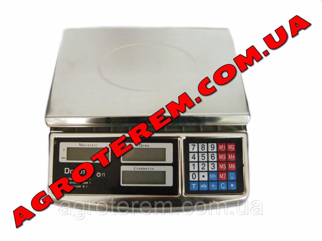 Весы электронные 50 кг Domotec (Металлический корпус)
