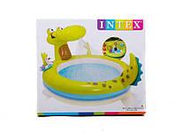 Детский надувной бассейн intex 57431 Крокодил