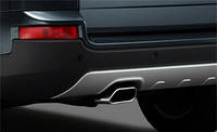 Насадка на глушитель одиннарная для | Volvo XC90 05-2013 Новая Оригинальная