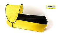 Ламзак нейлон с навесом желто-черный