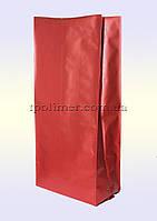 Пакеты с центральным швом 135х360 мм (красные)