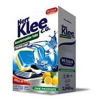 Таблетки для посудомийних машин Herr Klee Geschirrspuler-Tabs Lemon 102 шт.