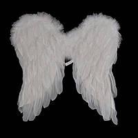 Крылья Амура средние (45х45см) белые