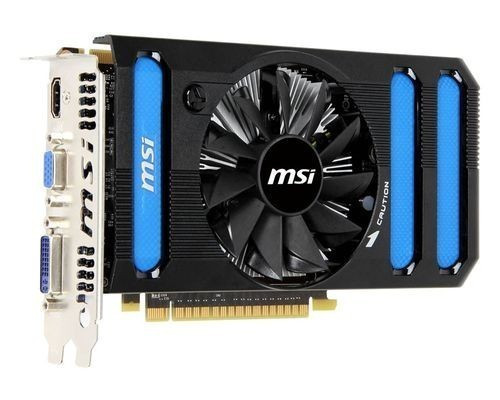 Видеокарта MSI GeForce GTX 550Ti 1024MB 192 bits (N550GTX-Ti-MD1GD5 V2) бу