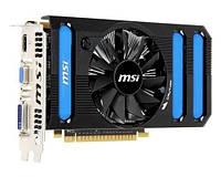 Видеокарта MSI GeForce GTX 550Ti 1024MB 192 bits (N550GTX-Ti-MD1GD5 V2) бу