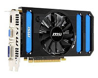Видеокарта MSI GeForce GTX 550Ti 1024MB 192 bits (N550GTX-Ti-MD1GD5 V2) бу, фото 1