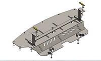 Защита двигателя, КПП и радиатора Chrysler Pacifica 4 WD 2004-2007 V-3,5 5-ступінчата АКПП