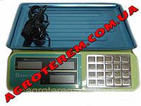 Весы торговые Domotec 55 кг (DT806B)
