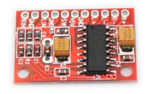 Стерео аудио усилитель 2х3Вт D-класса PAM8403 с выключателем звука