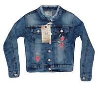 Куртка джинсовая для девочек оптом, Seagull ,  134-164 рр.,  № CSQ-89860, фото 1