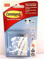 Легкоудаляемые крепежные клейкие полоски 3М Command 17024, (макс. нагрузка 225г), 12 шт.