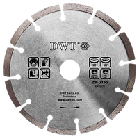 Алмазный диск по камню DWT DP-U150
