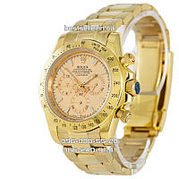 Часы Rolex Daytona Cosmograph 40mm Gold/Gold (Механика). Replica: AAA.